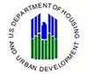 a logo with the words U.S. department of housing and urban development